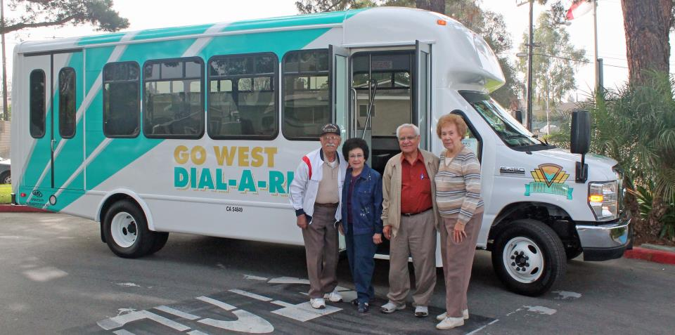 Transit Bus with Seniors