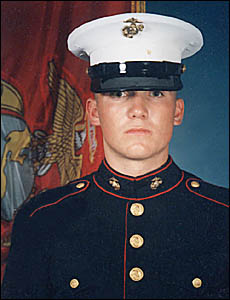 Brent Anglin, Marine Corps