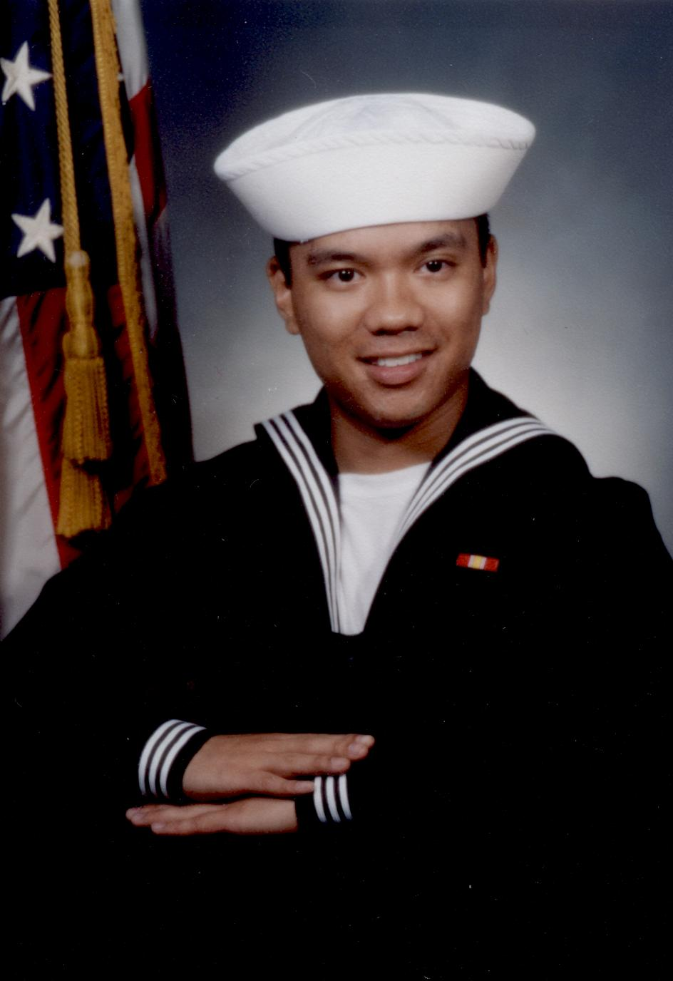 Edward Agdeppa, Navy