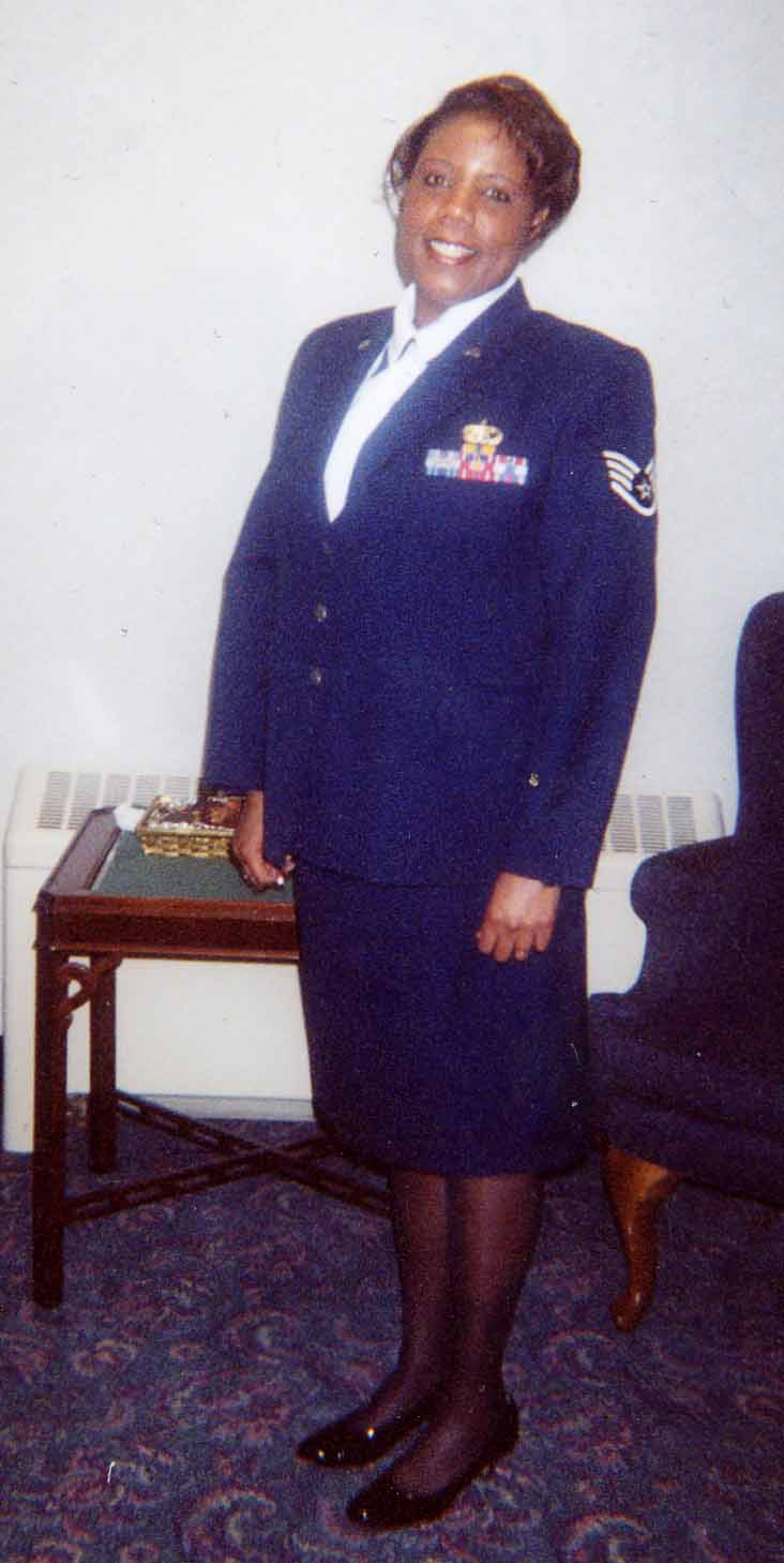 Latisha Villahermosa, Air Force