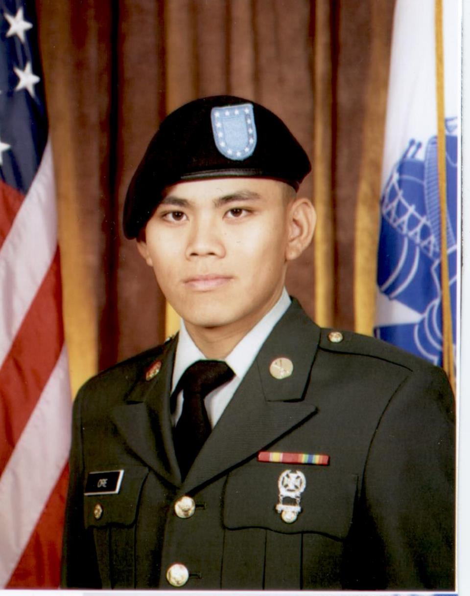 Michael Ore, Army