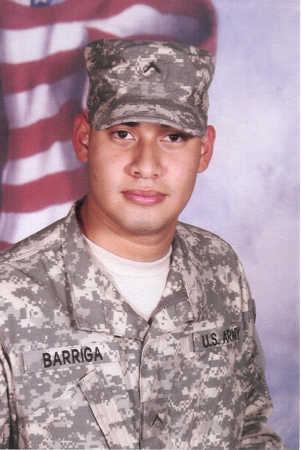 Paul  Barriga,  Army
