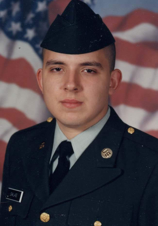 Richard Salas, Army