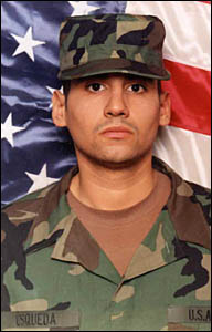 Ronald Esqueda, Army