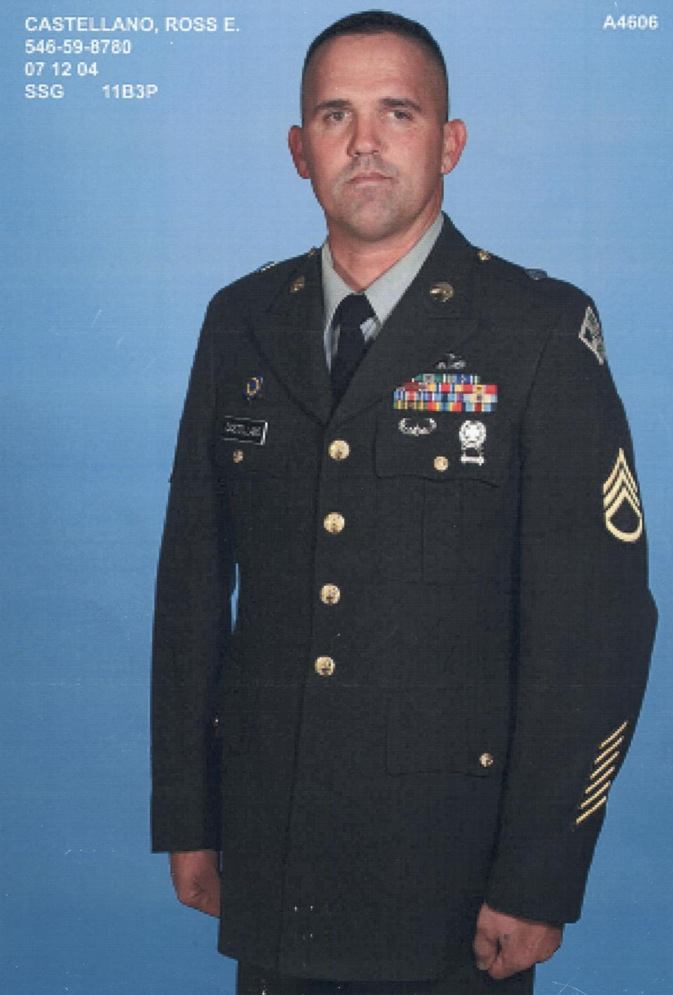 Ross E. Castellano, Army