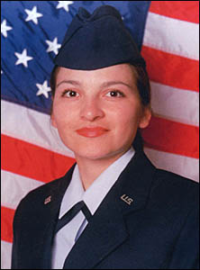 Yvette Loaiza, Air Force