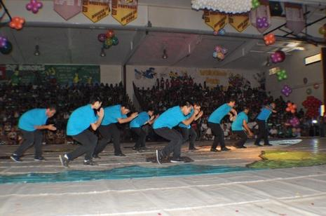 West Covina HS Male Dance Drill Team