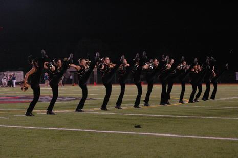 West Covina HS female Dance Drill Team