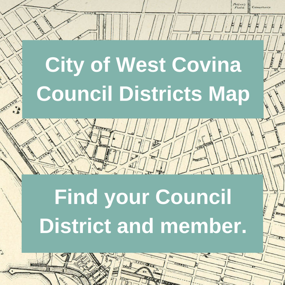 Council Districts GIS Button