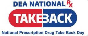 National Drug Take Back day 2019 - WCPD & DEA
