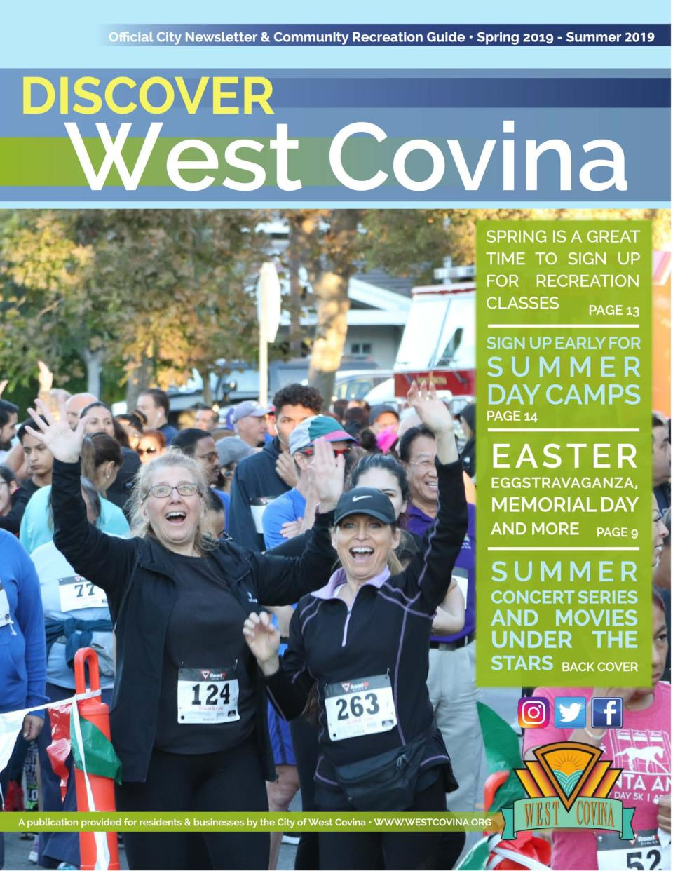Discover City News and Recreation Guide | City of West Covina