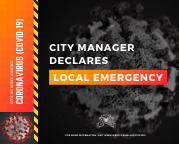 Proclamation of Local Emergency - press release