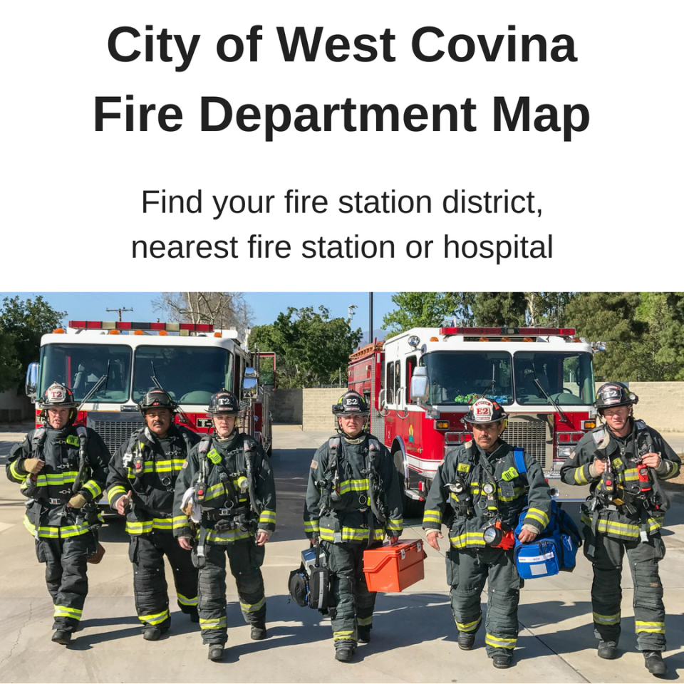 Fire Department Map Button